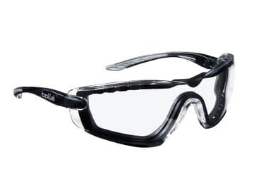 COBRA PSI PLATINUM® Safety Glasses with Foam Arms Clear